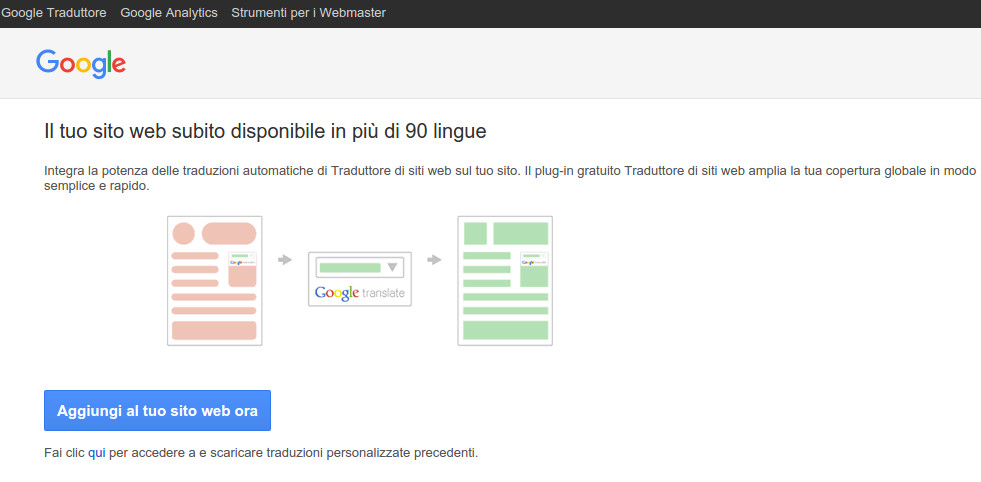 aggiugere-google-translate-wp