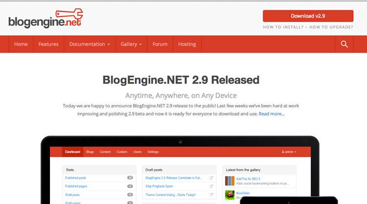 [Recensione]BlogEngine.NET, non esiste solo WordPress