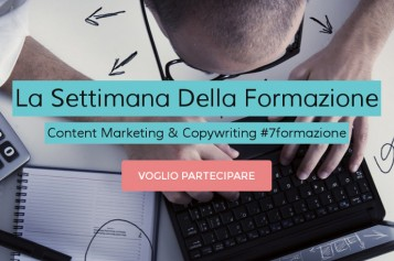 Corso Content Marketing e Copywriting  26-30 Maggio 2014