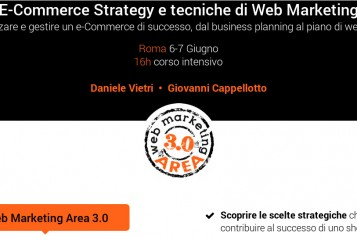 Corso Ecommerce e Web Marketing Roma 6-7 Giugno 2014