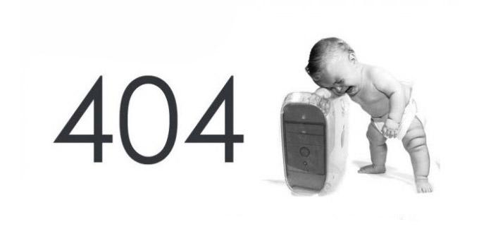 404 Page not found? Niente paura