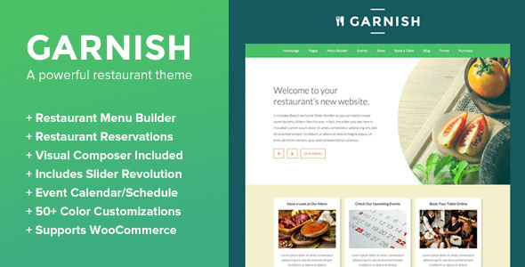 garnish-tema-wordpress-ristoranti