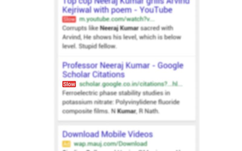 google-etichetta-slow