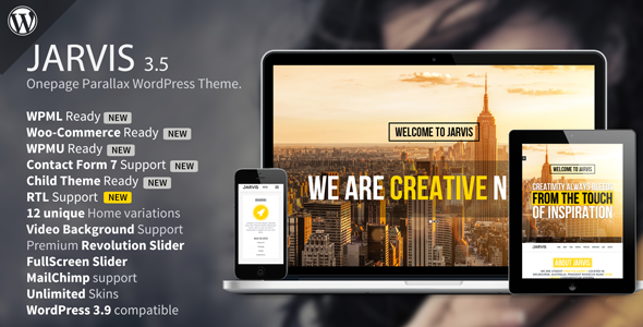jarvis-tema-wp-one-page