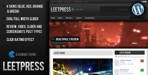 leetpress wp template