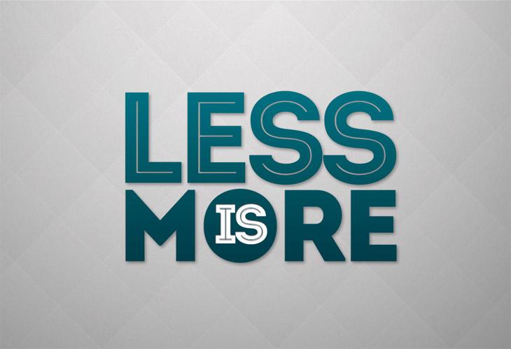 Less is more anche per AdSense?