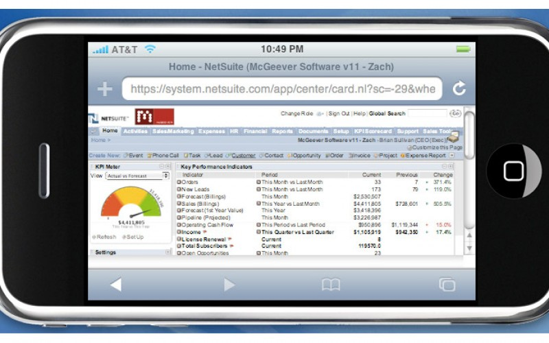 Andamento del m-commerce in zanox nel natale 2011