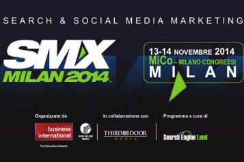Search e Social Marketing: Corso SMX Milano 13-14 Novembre 2014