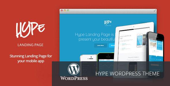 tema-wordpress-landing-applicazione