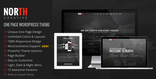 tema-wp-one-page-north