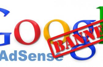 Ban AdSense: cosa evitare per non essere bannato da Google