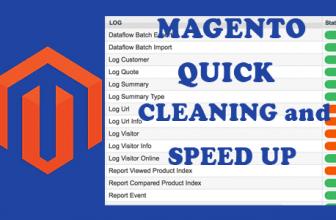 Magento: estensione per pulire i log e velocizzare l'ecommerce