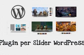 I Migliori Plugin per Slider WordPress