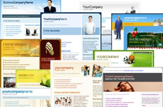 I migliori template per email: newsletter e mailing list