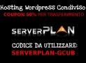 Passa a ServerPlan: Coupon 50% Sconto se trasferisci il tuo sito WordPress