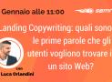 Webinar: come e cosa scrivere in una Landing Page?