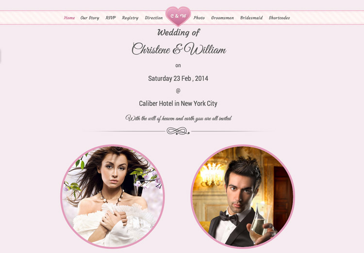 Wedding Event Template