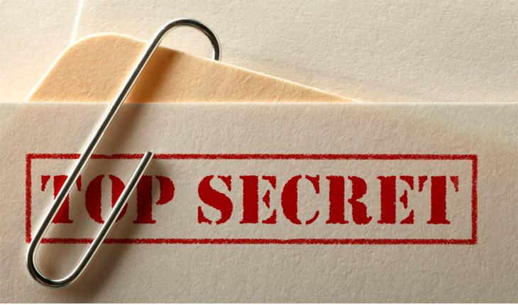 Tecnica segreta: svelate i vostri segreti