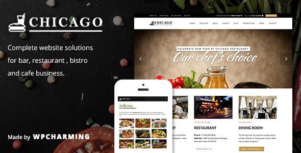 chicago-tema-wordpress-ristoranti
