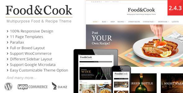 food-cook-tema-ricette-wordpress