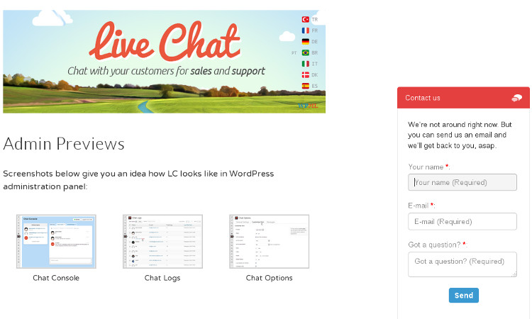 live-chat-wordpress