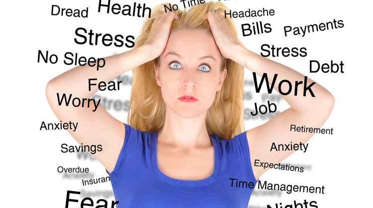 Stress da post