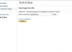 WordPress: Salvare nella libreria media le immagini di altri siti esterni