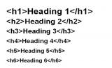 Headings: Corretto utilizzo delle intestazioni (tag H1 H2 H3 H4 H5 H6)