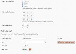 WordPress: aggiungere logo o scritta alle immagini