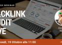 Webinar: Analisi del Profilo Backlink