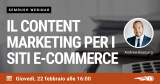 Webinar: come sfruttare il Cointent Marketing per l'Ecommerce